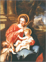 На всех этих картинах Мария смотрит на Радана. Иллюстрация из книги Светланы Левашовой «Откровение»
