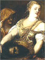 Картина Тициана «Саломе». Иллюстрация из книги Светланы Левашовой «Откровение»