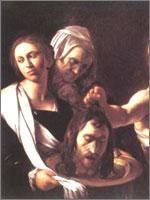 Караваджио «Убийство Крестителя». Иллюстрация из книги Светланы Левашовой «Откровение»