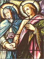 Радан со своей матерью, Ведуньей Марией, после гибели Радомира. Иллюстрация из книги Светланы Левашовой «Откровение»