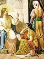 Иудейский пророк Джошуа со своей женой Марией. Иллюстрация из книги Светланы Левашовой «Откровение»