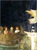 Переселение Пророка Джошуа с семьём в Прованс. Иллюстрация из книги Светланы Левашовой «Откровение»