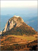 Крепость Монсегюр (Montsegur). Иллюстрация из книги Светланы Левашовой «Откровение»