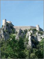 Крепость Пюлоран (Puilaurens). Иллюстрация из книги Светланы Левашовой «Откровение»