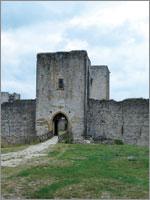 Крепость Пуиверт (Puivert). Иллюстрация из книги Светланы Левашовой «Откровение»