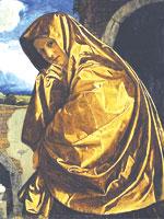 Скорбящая Магдалина в пещерах. Иллюстрация из книги Светланы Левашовой «Откровение»