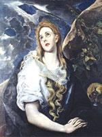 Картина Эль Греко «Магдалина». Иллюстрация из книги Светланы Левашовой «Откровение»