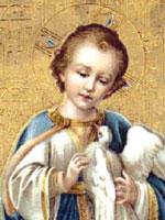 Сын Радомира – Светодар. Несущий свет. Мозаика в церкви святого Иоанна, Картахена. Иллюстрация из книги Светланы Левашовой «Откровение»