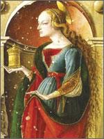 Лучшие художники изображали Магдалину, гордо ждущую своего наследника. Иллюстрация из книги Светланы Левашовой «Откровение»