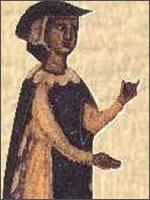 Знаменитейший Окситанский трубадур – Бернард де Вентадур (Bernard de Ventadour). Иллюстрация из книги Светланы Левашовой «Откровение»