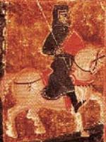 Знаменитейший Окситанский трубадур – Бертран де Борн (Bertran de Born). Иллюстрация из книги Светланы Левашовой «Откровение»