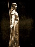 Великая Эсклармонд, Дама де Фуа. Иллюстрация из книги Светланы Левашовой «Откровение»