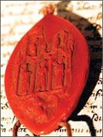 Печать Папы Клемента на Шинонском Пергаменте. Иллюстрация из книги Светланы Левашовой «Откровение»