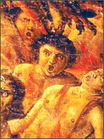 Мозаика во вновь отстроенной церкви Святой Магдалины, в городе Безье...  Иллюстрация из книги Светланы Левашовой «Откровение»
