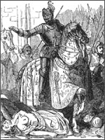 «Благословение» убитых верным слугою церкви...  Иллюстрация из книги Светланы Левашовой «Откровение»