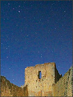 Катары смотрели на знакомые звёзды. Иллюстрация из книги Светланы Левашовой «Откровение»