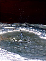 Пещеры Ломбрив. Иллюстрация из книги Светланы Левашовой «Откровение»