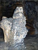 Филин в пещере Мёртвых. Иллюстрация из книги Светланы Левашовой «Откровение»