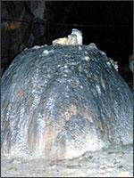 Даже замок Монсегюр запечатлела Пещера Мёртвых. Иллюстрация из книги Светланы Левашовой «Откровение»