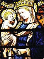 Ведунья Мария с короной Трёхлистника. Иллюстрация из книги Светланы Левашовой «Откровение»