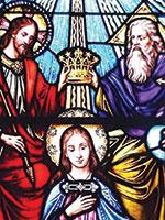 Возложение Христом короны Учителя на голову Магдалины. Иллюстрация из книги Светланы Левашовой «Откровение»