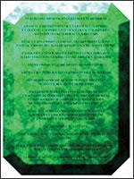 Изумруды. Иллюстрация из книги Светланы Левашовой «Откровение»