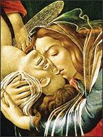 Картина Cандро Ботичелли «Оплакивание Христа». Иллюстрация из книги Светланы Левашовой «Откровение»