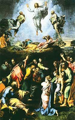 Картина Рафаэля «Преображение». Иллюстрация из книги Светланы Левашовой «Откровение»