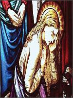 Плачущая Мария Магдалина. Иллюстрация из книги Светланы Левашовой «Откровение»