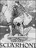 Эсклармонд де Уссон. Иллюстрация из книги Светланы Левашовой «Откровение»