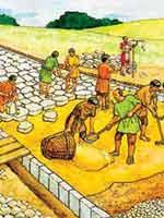 Технология строительства «римских» дорог