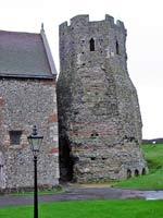 «Римский» маяк в Дувре, графство Кент