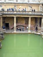 Общественные «римские» бани в «римском» городе Бат (Bath). В переводе на русский – баня