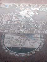 Мозаика на «римской» в городе Лалингстон, графство Кент, юго-запад Англии (Lullingstone, Kent)