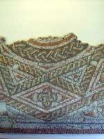 Мозаика в «римском» дворце в Фишборне, графство Вест Сассекс, юго-восток Англии (Fishbourne, West Sussex)