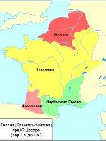 Галлия времён «римского завоевания»