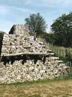 Бибракта (Bibracte) – Крепостная стена