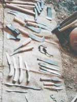 Бибракта (Bibracte). Галльские инструменты