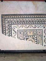 Мозаика со славяно-арийскими символами в Ниме (Nimes), юго-восток, средиземноморское побережье Франции