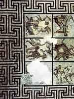 Мозаика со славяно-арийскими символами в Валансе (Valence), юго-запад Франции