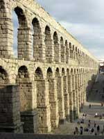 Акведук в Сеговии (Segovia), север Испании