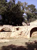 Акведук в провинции Уэска (Huesca), север Испании