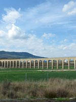 Акведук в провинции Наварра (Navarra), север Испании