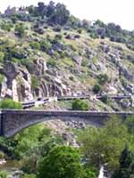 Акведук в городе Толедо (Toledo), центр Испании