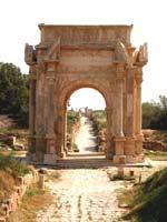 Лептис Магна (Leptis Magna) – арка императора Септимия Севера