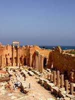 Лептис Магна (Leptis Magna) – базилика императора Септимия Севера
