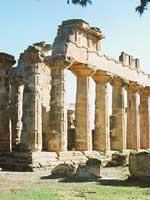 Кирены (Cyrene), храм Зевса, Ливия