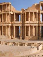 Сабрата (Sabratha), театр, Ливия