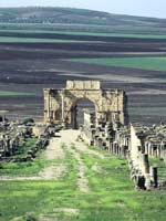 Волюбилис (Volubilis), триумфальная арка, Морокко