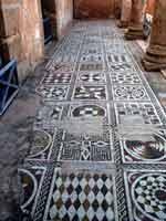 Мозаика со славяно-арийскими символами, вилла Силина, Ливия